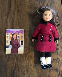 Mini American girl doll Rebecca for travel Mc Lean, 22101