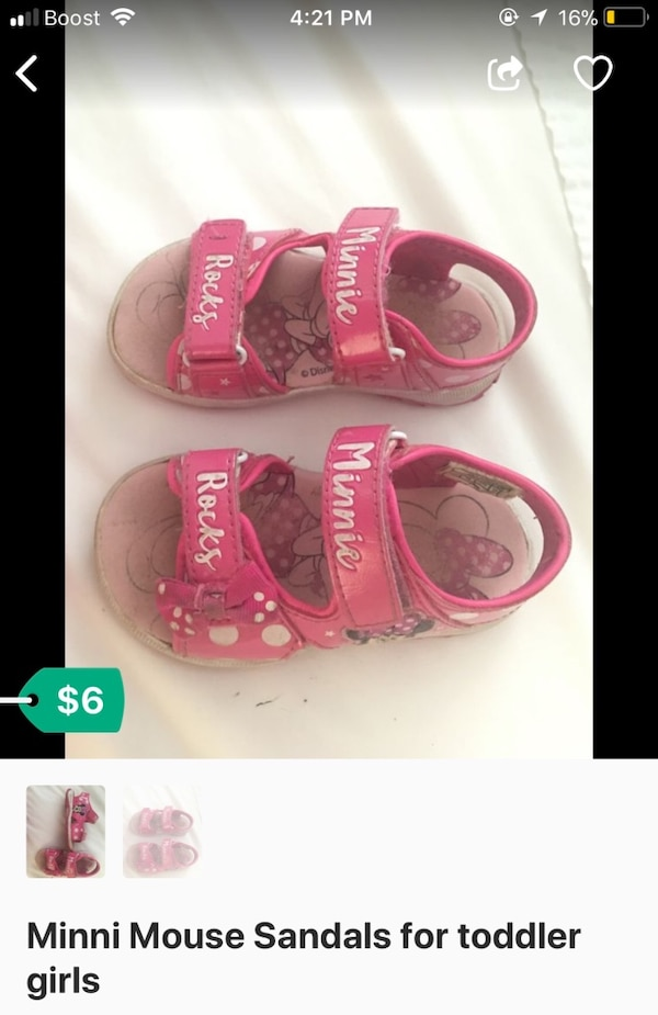 Minnie mouse sandals for toddlers b4959efd-a927-44a5-9e5a-a002ce756353
