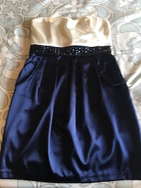 Navy blue short dress Schaumburg, 60193