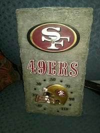 San Francisco 49ers clock Farmersville, 93223
