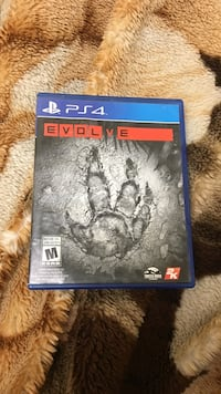 Sony PS4 Evolve game