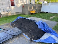 Black mulch 1yd