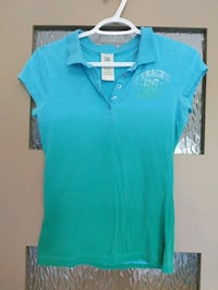 Blue and Green Horizon shirt size small