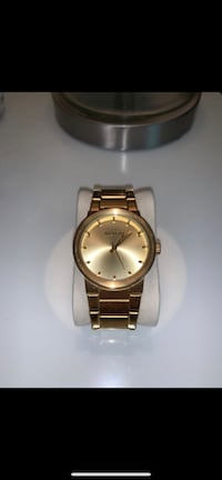Gold Plated Nixon Watch