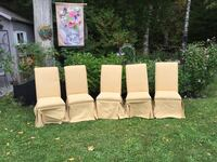 5 x Butternut Coloured Dining Chairs Innisfil, L9S 1T4
