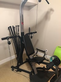 black and gray Bowflex Xtreme exercise equipment Langley, V2Y 2Z7