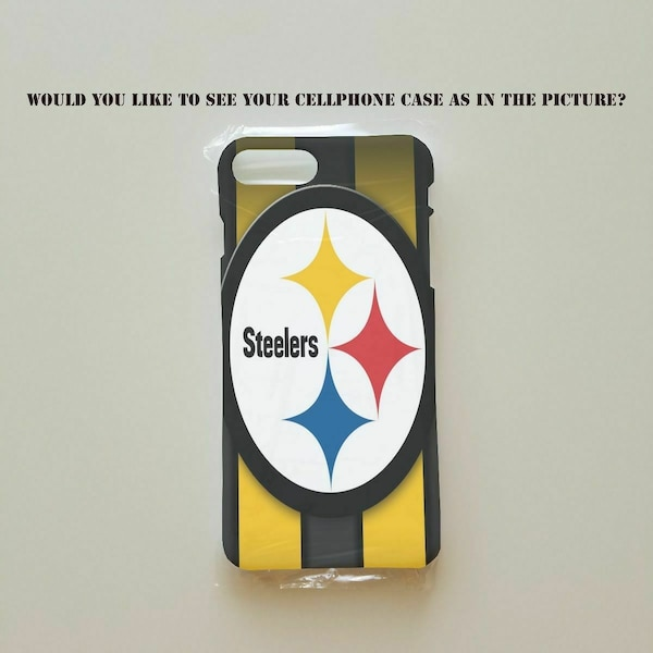 uk availability d6c0d 580a2 Pittsburgh Steelers Printed Cellphone Cases