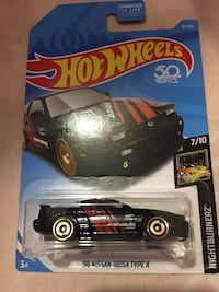 1996 Hot Wheels Nissan 180 SX Type X scale model pack New York, 10459