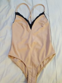 Size 6 Beige bodysuit (Missguided)  Fairfax, 22043