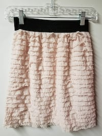 women's beige skirt