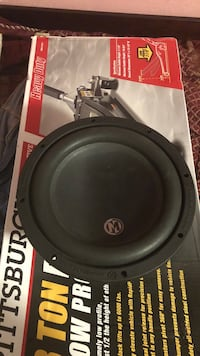Black and gray Memphis  subwoofer Farmersville, 93223