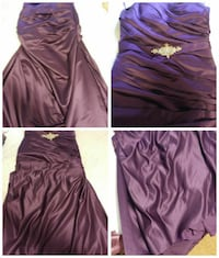 purple spaghetti strap dress collage Ottawa