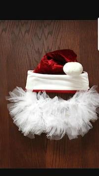 red and white santa hat with tutu skirt Mesa, 85204