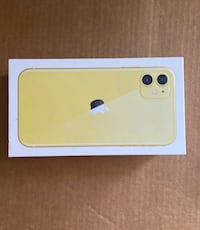 IPhone 11 Yellow Box. Burke, 22015
