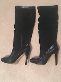 Nine West leather/suede knee high boots; size 8.5 Fairfax Station, 22039