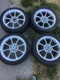 Rims with tires for sale Toronto, M6M 1Y2