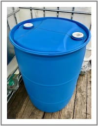 55 Gallon Food Grade Plastic Drums / Rain Barrels Escondido
