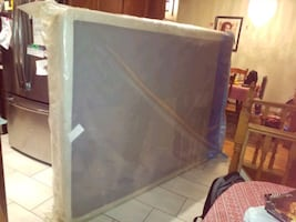 Queen size box spring New