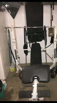 Powerhouse weight bench /inversion table Batavia, 45103