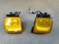CIVIC EK 96-00 AMBER FOG LAMPS