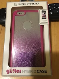 Spectrum glitter hybrid case iPhone 6/6S New Haven, 06511