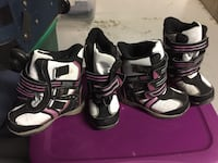 Girl Snow boots size 11 and size 12