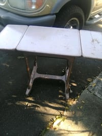 Almost antique metal desk/sewing table