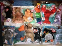 McDonald's 1998 Ty Teenie Beanie Babies x 12 Pc Set plus Happy Meal Bag New and Sealed Montréal, H4G 1M2