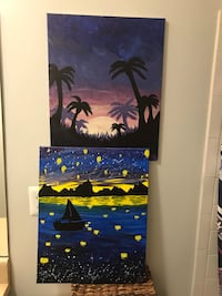 2 Tropical Paintings Newport News, 23602