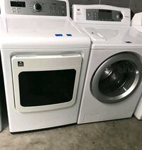 GE washer and 3dryer with a 90 day warranty Canton, 30114