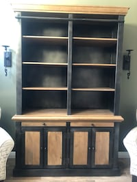 Wall unit/bookcase with ladder