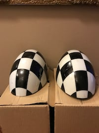 two black-and-white soccer balls Manalapan, 07726