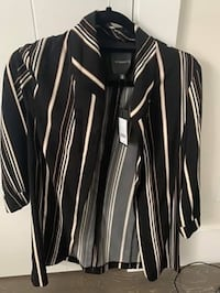 Brand new blazer with striped - Dynamite size M Richmond, V6Y 2V3