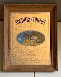 Vintage Southern Comfort mirror
