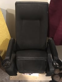 Hi back theatre chair new