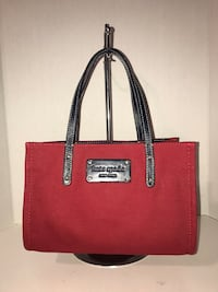 Kate Spade Mini Tote Bag (Red/Navy)