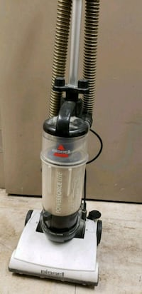 gray and black Bissell upright vacuum cleaner Lloydminster, S9V 2J6