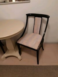 Black lacquer chair  Mississauga, L5M 5W8