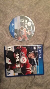 Nhl 17 game disc and case 618 km