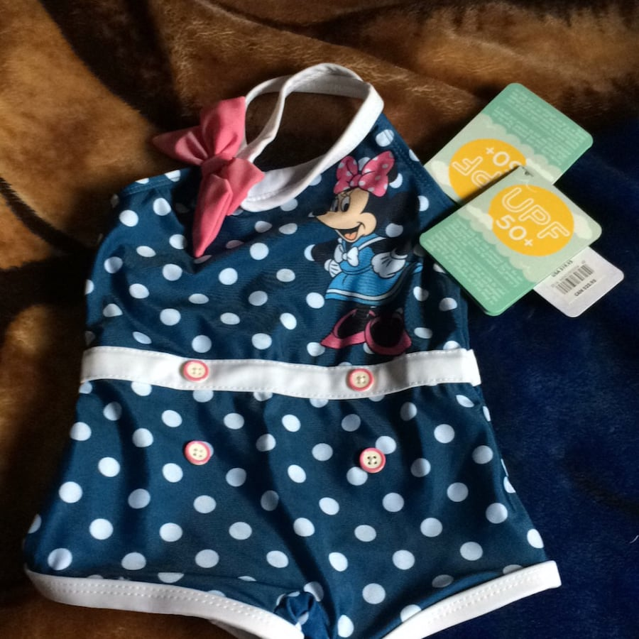 Baby Minnie Mouse swimsuit