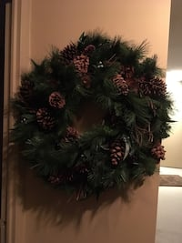 "New Christmas door wreath size 30"" Oakville, L6K 1Y8"