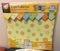 Summer Sizzle Paper Collection 14 Coordinating 12x12 Sheets & Card-Stock (New) Winnipeg, R3E 1Y6