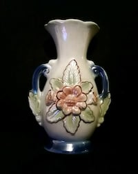 Vintage Brazilian Lusterware Raised Flower Vase Johnson City, 37601