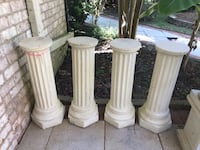 Four Decorative Columns can be used as table legs Decatur, 35603