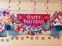 Frozen Birthday party Decorations  Falls Church, 22041