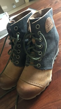 Sorel Boots - Worn Once - Originally $190, $80 or best offer - Size 9 Rochester Hills, 48309