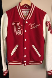 True Religion Varsity Jacket Ajax, L1T 1V3