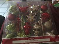 36 mini ornaments Bakersfield, 93309