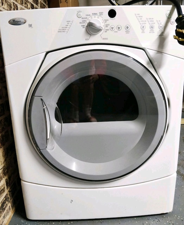 Used Whirlpool Duet Sport Electric Dryer