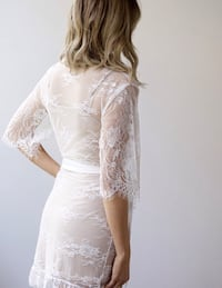 Bridal Robe by Bronte and Clyde